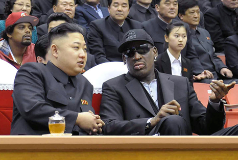 dennis rodman elogia a gobernante de corea del norte