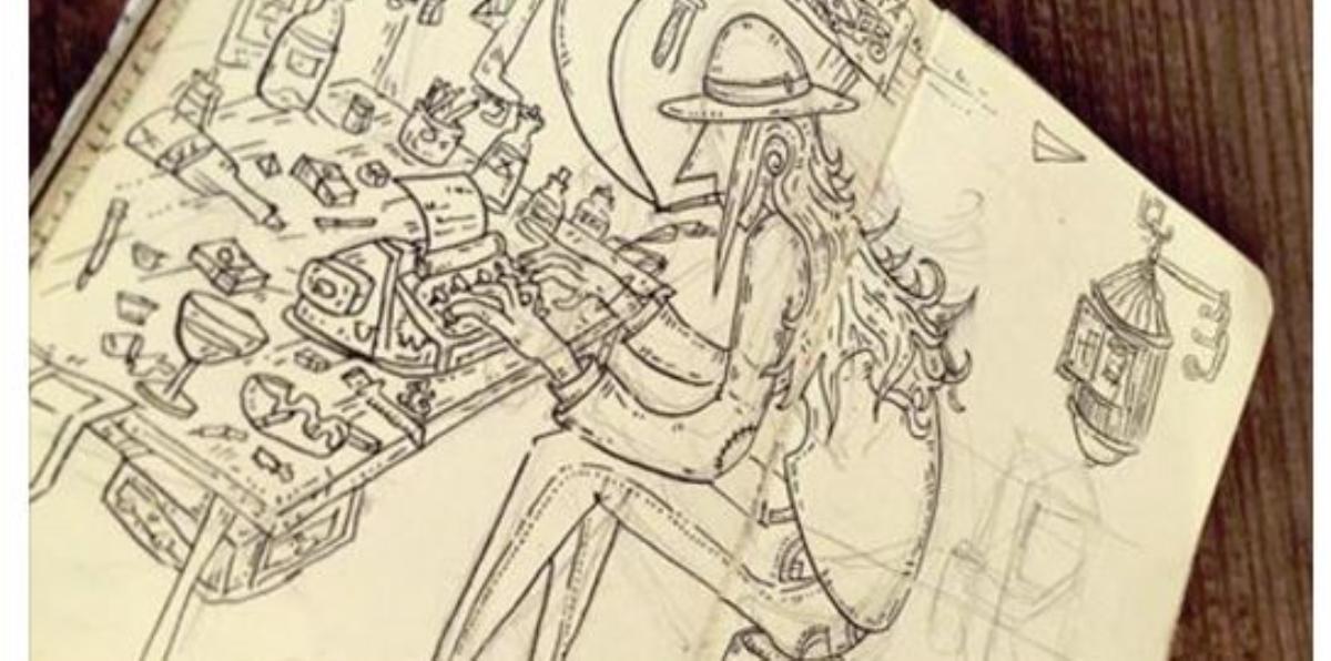 Libretas De Dibujo De Un Artista Freelance: Artista Pide Ayuda Para Recuperar Libreta De Dibujos