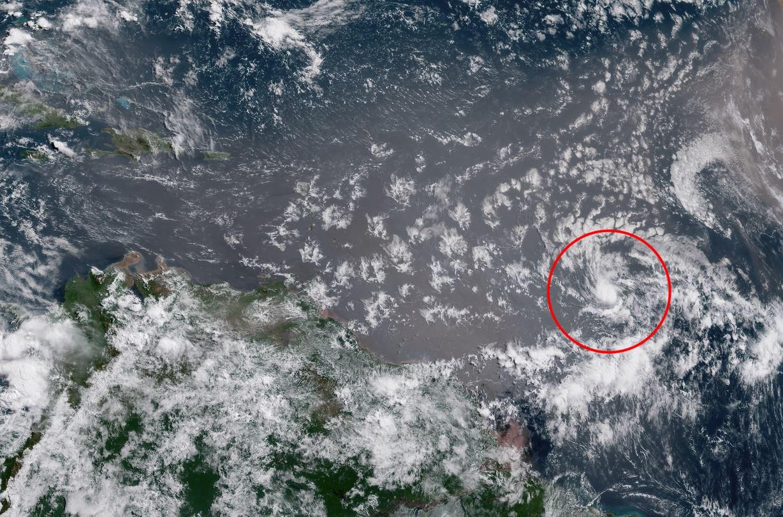 Depresión se convierte en tormenta Beryl camino de las Antillas Menores