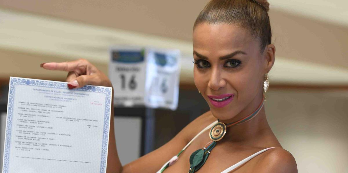 Ivana ya tiene el género femenino en su certificado de nacimiento
