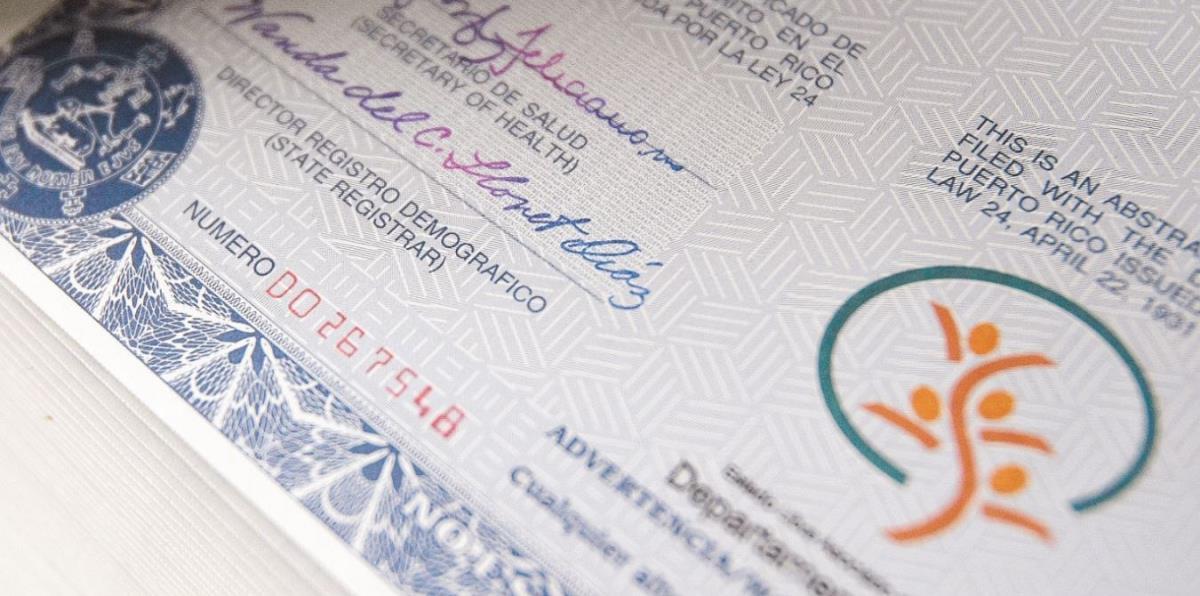 Lujo Certificado De Nacimiento Del Condado De Thurston Friso ...