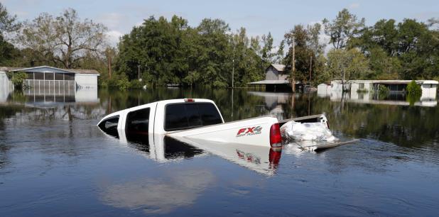 La medida abarcaba a unos 500 residentes cerca de la ribera del río Lynches en Carolina del Sur. (AP)