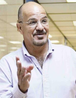 Diego Figueroa, presidente del Frente Unido de Policías.