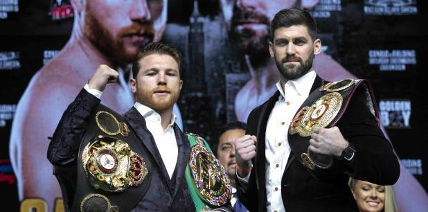 Para ambos será la primera vez que pelean en el Madison Square Garden. (AP / Richard Drew)