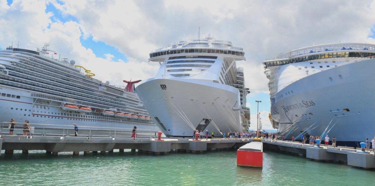 Llegan 17,000 cruceristas al Puerto de San Juan