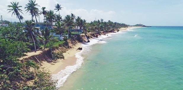 Después del ciclón no se ha medido el grado de impacto que han tenido las marejadas en los 799 pies lineales de costa y las 1,225 playas que tiene Puerto Rico. (Suministrada)