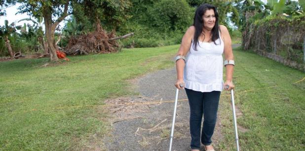 La mujer fue condenada a seis años en prisión, de los cuales cumplió cuatro hasta que el pasado 1 de junio le fue concedida la libertad… una libertad que, insiste, llegó a destiempo. (Para Primera Hora / Jorge Ramírez Portela)