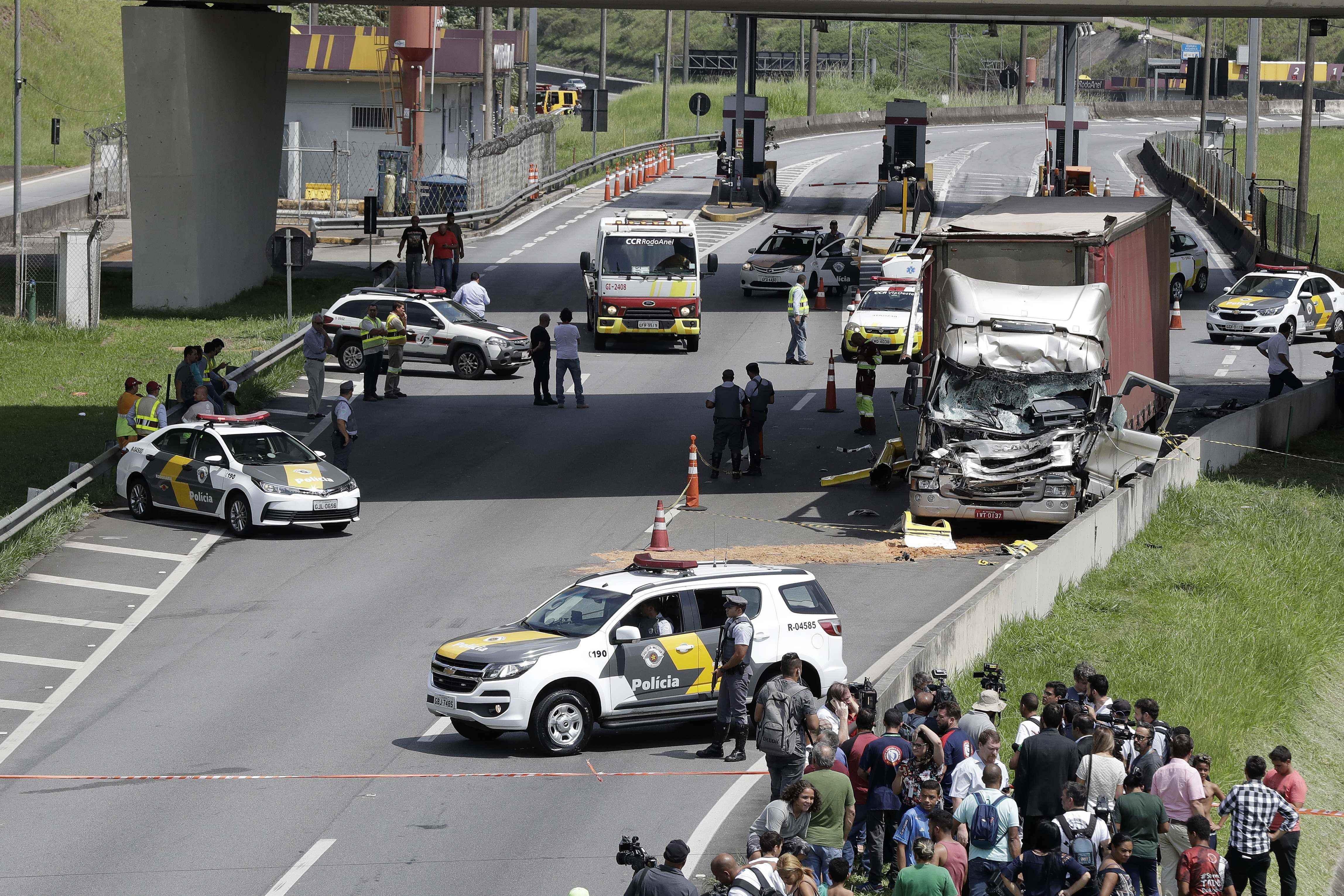 Un reconocido periodista brasilero muere en un accidente en helicóptero
