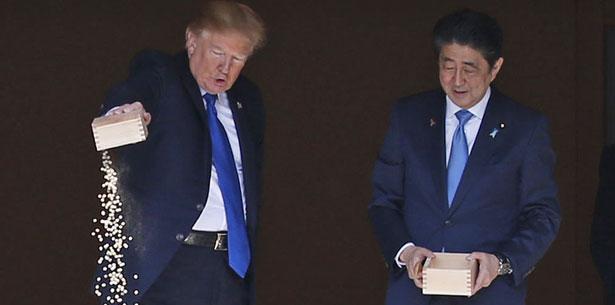 El periódico japonés, sin embargo, se hace eco de versiones como la de diario The Washington Post que alude a la posibilidad de que Trump confundiera a Abe con el presidente surcoreano, Moon Jae-in. (Archivo)
