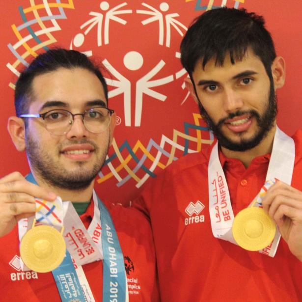 En el desglose del medallero los boricuas obtuvieron 17 medallas de oro,  como estas de los hermanos Burgos en tenis de mesa, 18 preseas de plata y 22 de bronce.