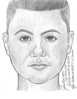 Según la investigación, el hombre de tez clara, pelo negro y ojos marrón. (suministrada)