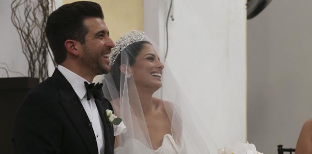 La modelo Aleyda Ortiz quien fue ganadora de Belleza Latina se casa con el asesor financiero Ricardo Casanova. (teresa.canino@gfrmedia.com)