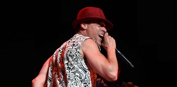 El cantante fue hospitalizado anoche tras una presentación. (archivo)