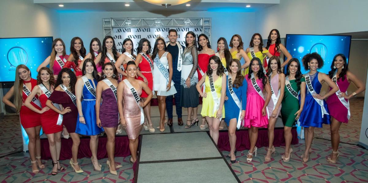 Presentan Candidatas Al Certamen Miss Mundo De Puerto Rico