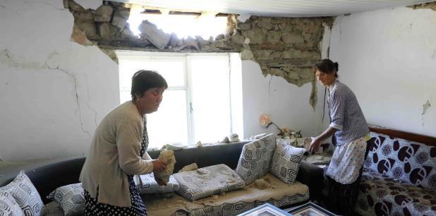 Ubicada a lo largo de los mares Adriático y Jónico, Albania es propensa a terremotos y registra actividad sísmica frecuente. (AP)