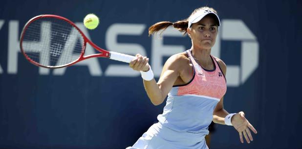 La tenista boricua juega en Luxemburgo su último torneo de la temporada 2019. (Archivo)