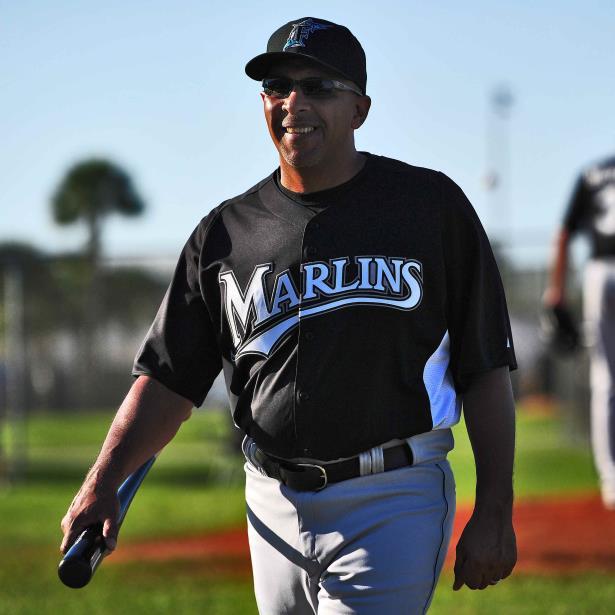 En el 2010, Edwin Rodríguez fue nombrado dirigente de los Marlins, siendo el primer puertorriqueño en ser manager en propiedad de un equipo de las Grandes Ligas.  (Archivo)