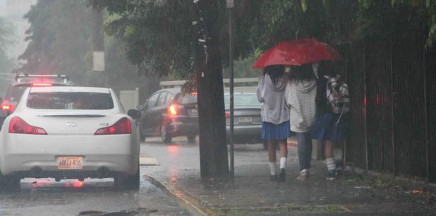 Ayer se registraron hasta dos pulgadas de lluvia en el suroeste de la Isla. (Archivo)