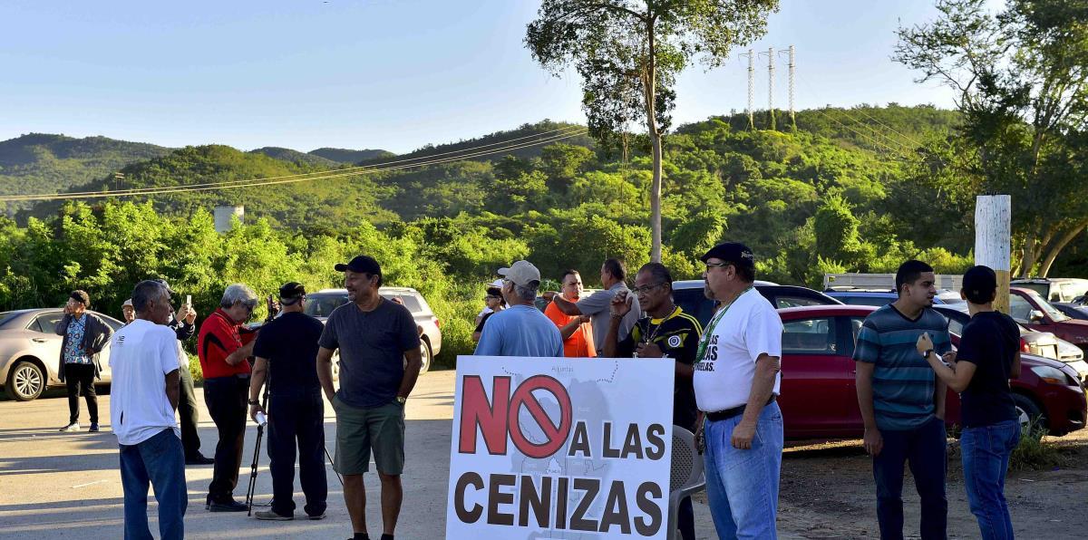 """Campamento contra las Cenizas: """"Ahora le toca a la gobernadora cumplir con su palabra - Primera Hora"""