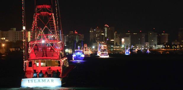 Mañana es el San Juan Christmas Boat Parade, en la Bahía de San Juan. (Archivo)