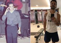El antes y después de Luis Fonsi. (Fotos: Captura de pantalla/ Instagram)