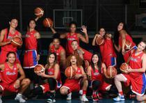Equipo Nacional de baloncesto femenino que irá al Mundial. (Foto Andre Kang / andre.kang@gfrmedia.com)
