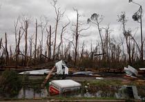 Vista de los daños en Panama City. (AP / Gerald Herbert)