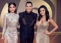Alejandra Espinoza, Maite Perroni y Victor Manuelle. (Univision)
