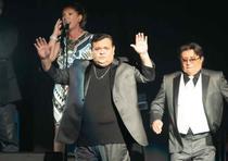 Richie Ray y Bobby Cruz se presentaron esta noche en concierto en el Coliseo Jose Miguel Agrelot. (Para Primera Hora © Jorge A Ramirez Portela)