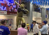 El estadio Dennis Martínez, en Nicaragua, conto´ con la presencia de 13,000 fana´ticos. (Suministrada)
