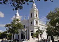 Catedral Nuestra Señora de la Guadalupe, en Ponce. (Archivo)
