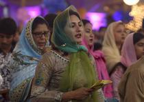 Parte de las celebraciones alrededor del mundo en el Domingo de Resurrección.
