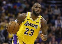 Primera más vendida: LeBron James de los Lakers de Los Ángeles. (AP / Rick Scuteri)