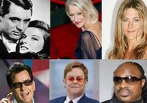 Varios famosos cambiaron sus nombres por otros más atractivos al lente público. (Montaje)