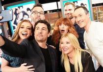 Varios actores de la saga se reunieron en el programa