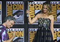 La actriz está en la saga desde la primera filmación. (AP)