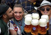 Inauguración de la 186ta edición del Oktoberfest en Alemania. (AP / Matthias Schrader)