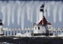 St. Joseph Lighthouses, Michigan. (Don Campbell / The Herald-Palladium vía AP)