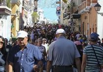 Tercer día de las Fiestas de la Calle San Sebastián, en las que se celebran el 50 aniversario de su fundación (david.villafane@gfrmedia)