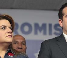Rosselló y Jenniffer celebran que no se desvíen fondos para la reconstrucción