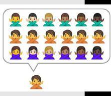 Google lanzará emojis de género neutro para Android