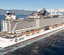 MSC y Royal Caribbean cancelan paradas de cruceros para el lunes