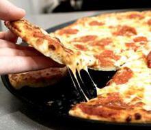 Delivery de pizza por avión