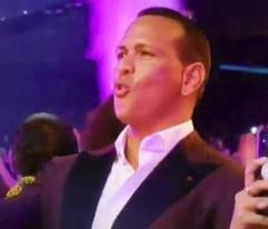 Alex Rodríguez se babea por Jennifer López en los VMAs
