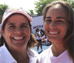 Juntas Mónica Puig y Gigi Fernández