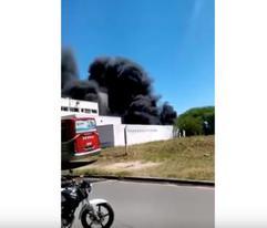 """Policías querían hacer un """"barbecue"""" e incendiaron la comisaría"""