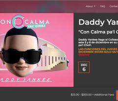 Históricas ventas por conciertos de Daddy Yankee