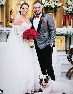 Se casó el pelotero Christian Vázquez 3a81bcd7500