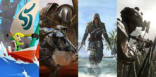The Legend of Zelda: The Wind Waker HD, Destiny, Assassin's Creed 4: Black Flag y Call of Duty: Ghosts serán parte de la oferta de Electronic Entertainment Expo (E3) este año.