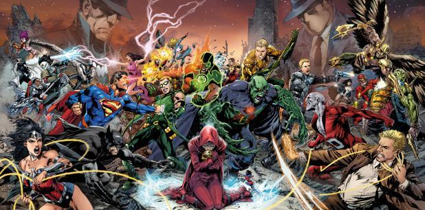 DC ha estado dando pistas y estableciendo las bases de esta gran guerra durante los pasados años, basado en el miedo que ha generado en diversos sectores la unión de personajes tan poderosos como Superman, Batman, Flash y Wonder Woman. (dccomics.com)